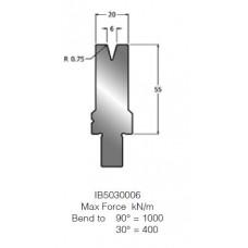 Matriz IB5030006 30º V6