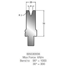Matriz IB5030008 30º V8