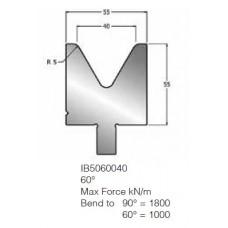 Matriz IB5060040 60º V40