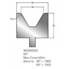 Matriz IB5060050 60º V50