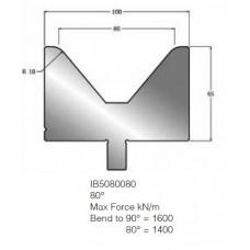 Matriz IB5080080 80º V80