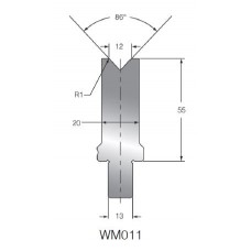 Matriz WM011 OZU-011 86º