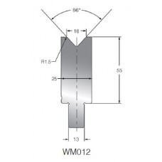 Matriz WM012 OZU-012 86º