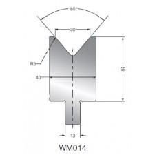 Matriz WM014 OZU-014 80º