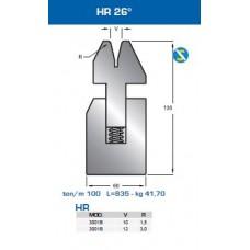 Matriz com mola 3001B HR 26º  V10-V12