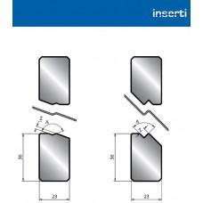 Inserto IH para quinagem em Z 1-15