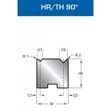 Matriz Duplo V Mod. 30140 HR/TH 90º