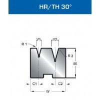 Matriz Duplo V Mod. 33756 HR/TH 30º