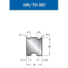 Matriz Duplo V Mod. 501 HR/TH 90º