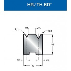 Matriz Duplo V Mod. 502 HR/TH 60º