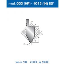 Punção Mod. 003(HR)-1012 (IH) 60º