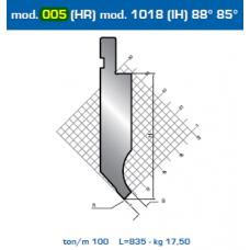Punção Mod. 005(HR) Mod.1018 (IH) 88º 85º