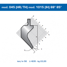 Punção Mod. 045(HR/TH) Mod.1015 (IH) 88º  85º