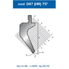 Punção Mod. 047(HR) 75º