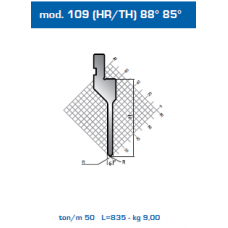 Punção Mod. 109(HR/TH) 88º 85º