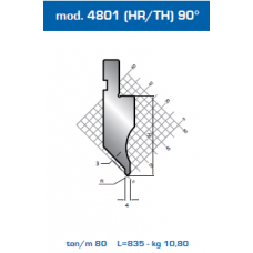 Punção Mod. 4801(HR/TH) 90º