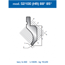 Punção Mod. S2101 (HR) 88º 85º