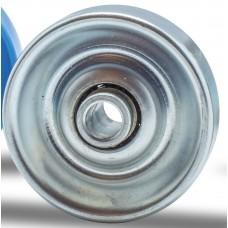 Rolete de metal D=48, cubo d=6,2 esf aço,  carga 20 Kg