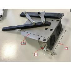 Esquadro magnético direito